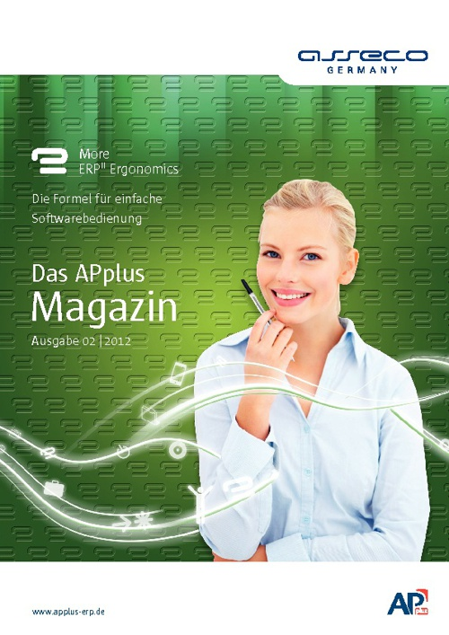Asseco Germany Das APplus Magazin 2 2012