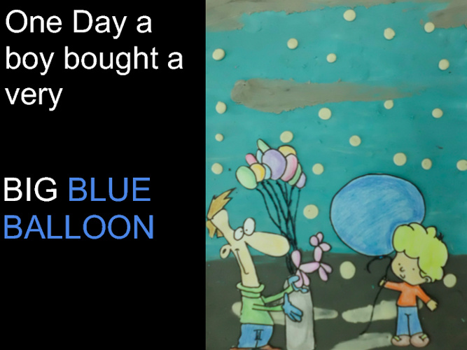 The Big Blue Balloon