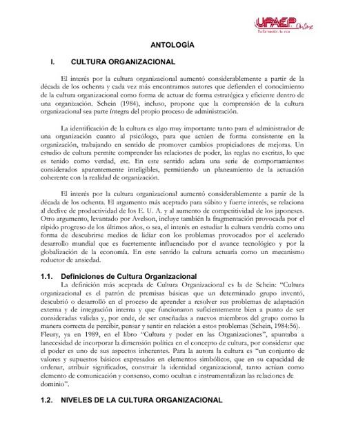CULTURA DIGITAL Y ORGANIZACIONAL