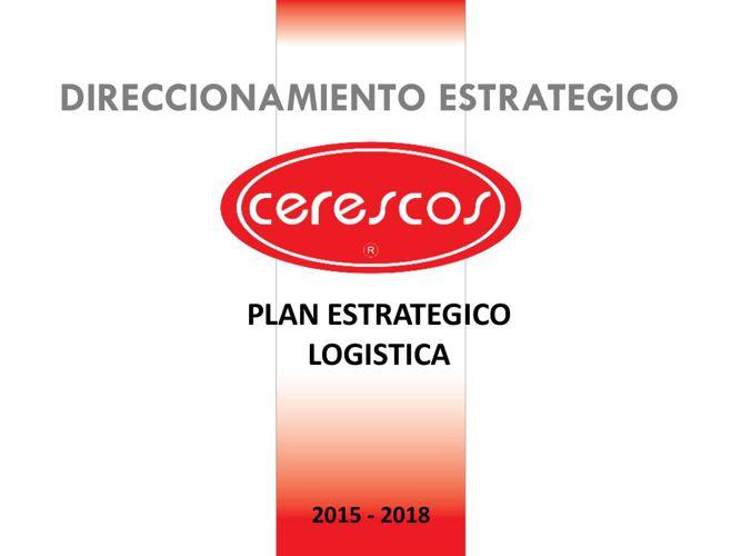 Plan Estratégico 2015 - 2018