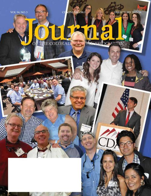 Summer 2015 Journal of the Colorado Dental Association