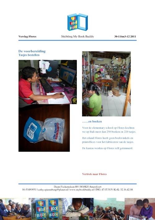 Verslag bezoek Flores Indonesië December 2011
