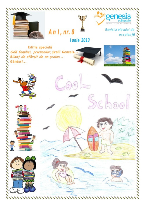 Cool School 8, Revista Scolii Genesis