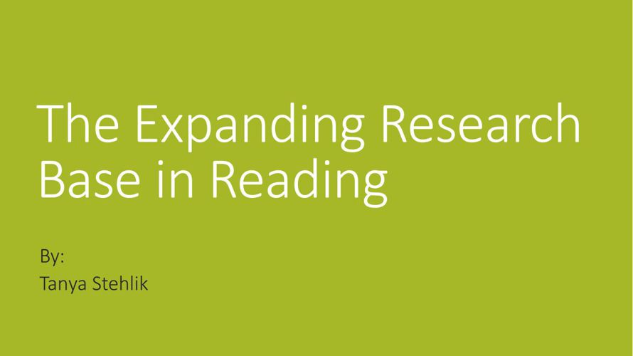 SPED 432--Assessing and Teaching Reading