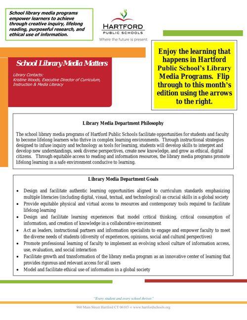 School Library Media Matters