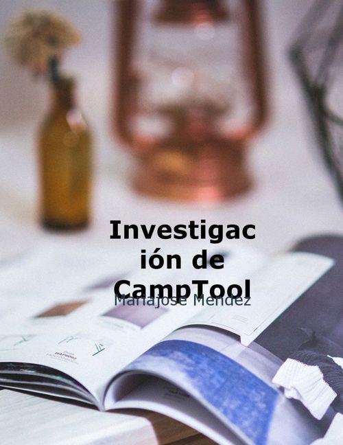Investigación de Camptools