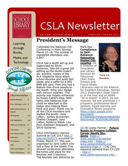 2017_04 CSLA Newsletter