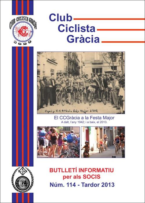 Butlletí 114 - CLUB CICLISTA GRÀCIA