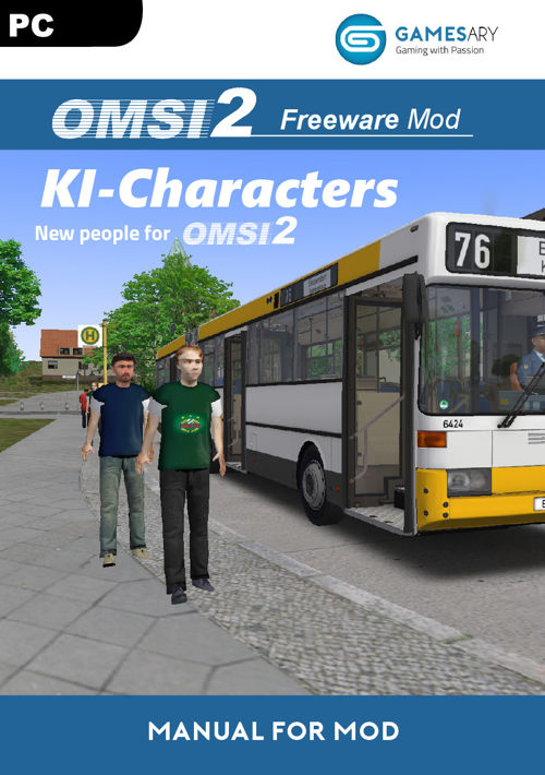 OMSI Freeware Mod KI Charcters - New people for OMSI 2