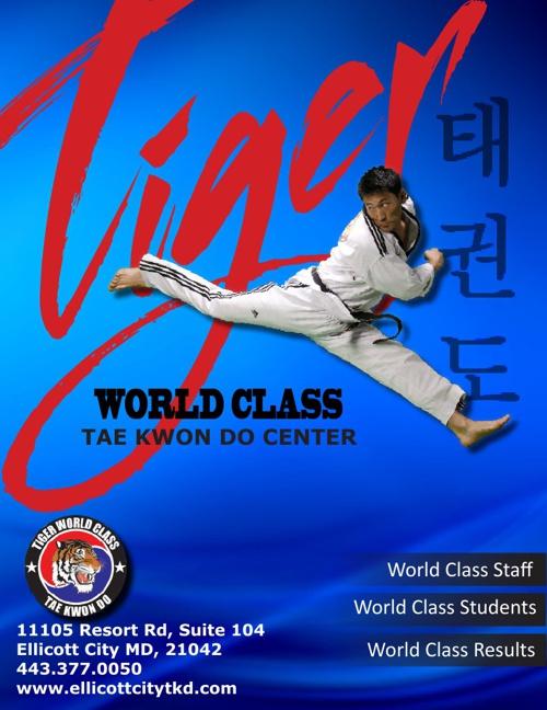 TIger World Class Tae Kwon Do