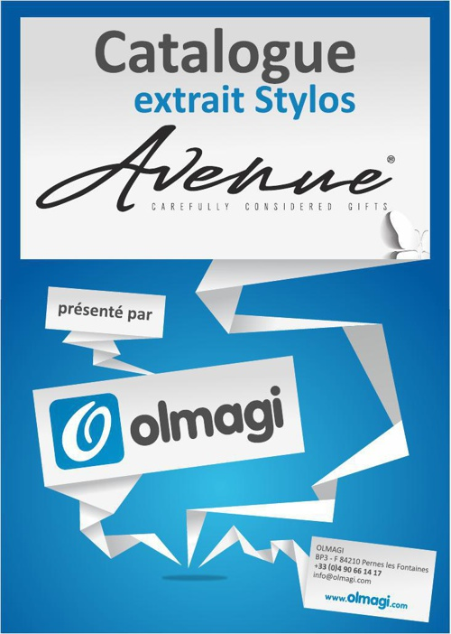 Olmagi - Catalogue Avenue Stylos 2014