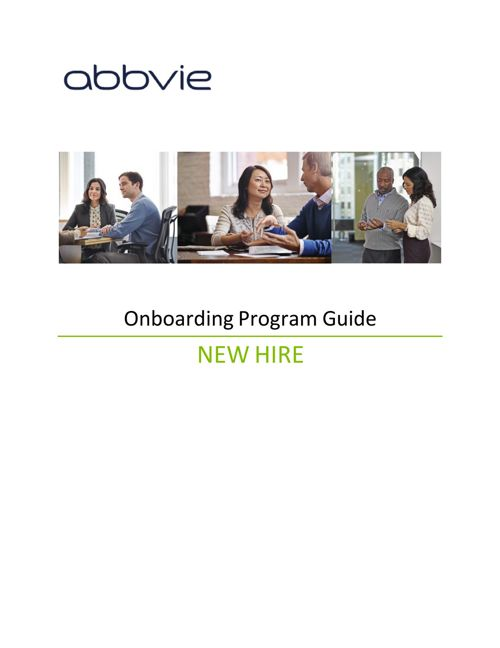Onboarding Guide for New Hires (Employees)