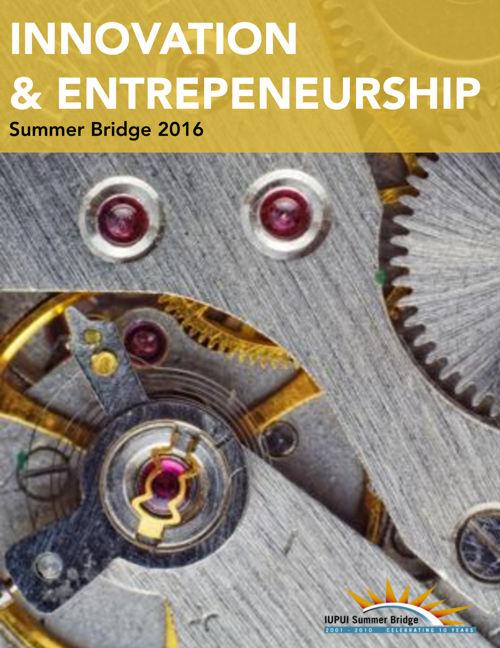 Summer Bridge 2016 - Innovation & Entrepreneurship