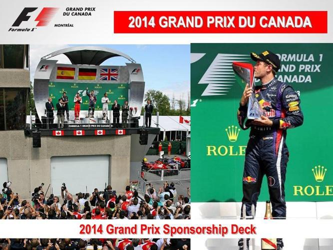 2014 Grand Prix sponsorship