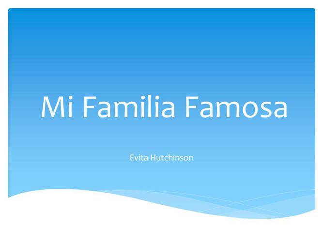 Mi Familia Famosa 2