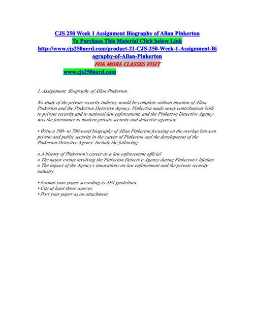 CJS 250 NERD Real Success / cjs250nerd.com