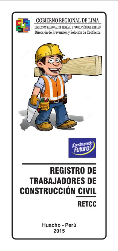 MDP / [GOBIERNO REGIONAL DE LIMA] - INSCRIPCION CONSTRUCCION CIV
