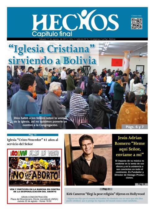 Periodico Hechos Nro. 9