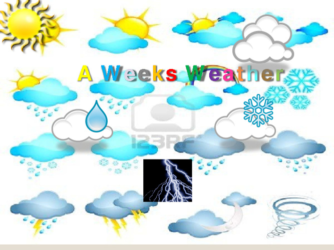 A Week's Weather