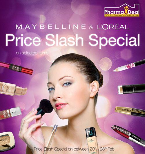 Maybelline_Loreal_Price_Slash_Special