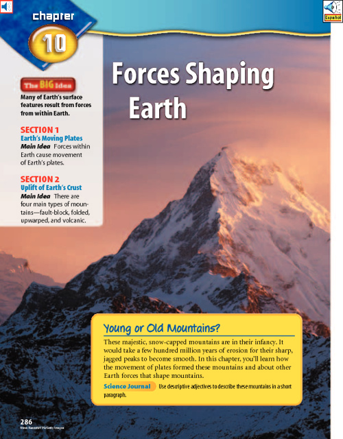 RED Ch 10 - Forces Shaping Earth