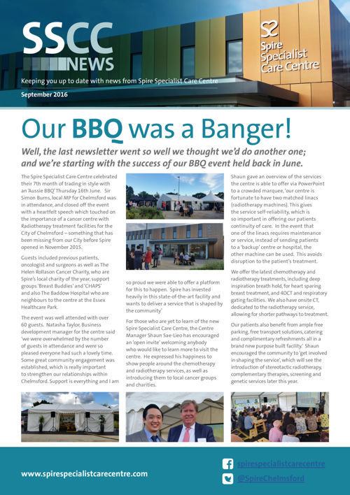 SCC - Newsletter - August 2016