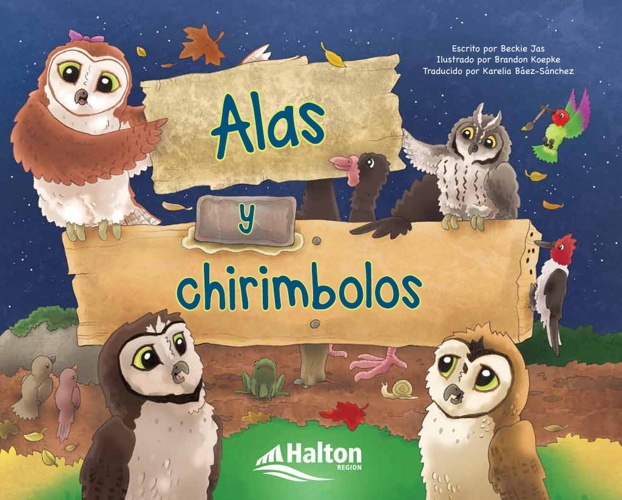 Alas y chirimbolos [Wings and Thingamajigs (Spanish)]