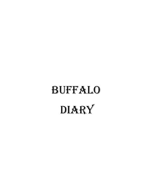 Buffalo Diary
