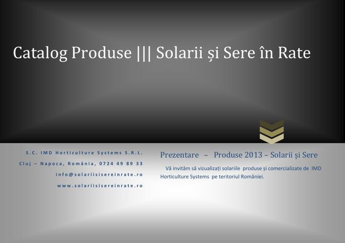 Catalog produse
