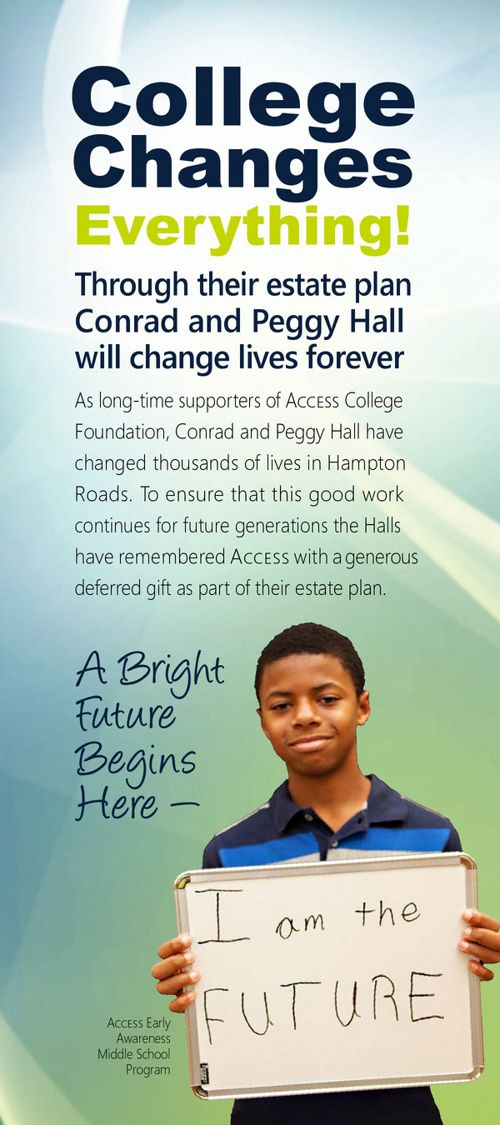 Access College Foundation Planned Giving Brochure