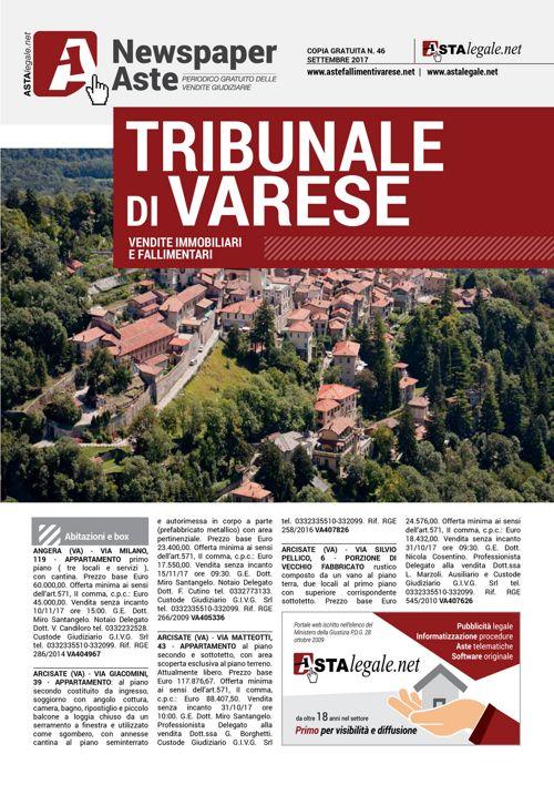 Varese settembre 2017