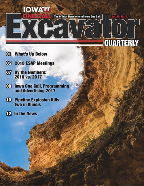 Excavator Quarterly Vol. 25. No. 4.