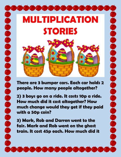 Multiplicatiion stories