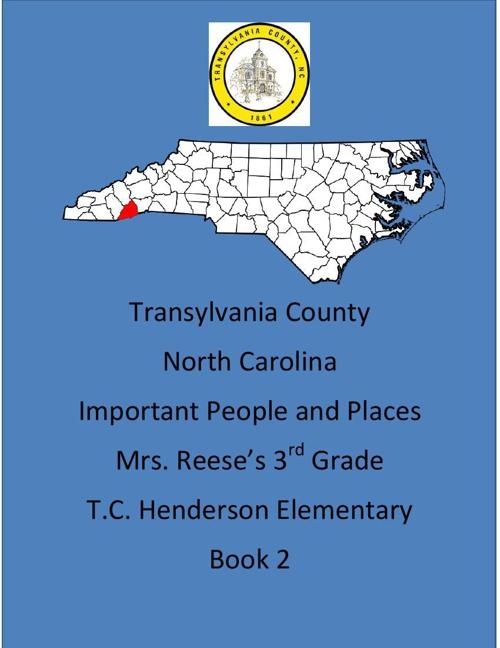 Transylvania County Class Book 2