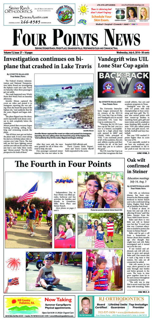 Four Points News July 6 2016