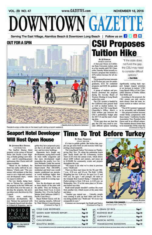 Downtown Gazette  |  November 18, 2016