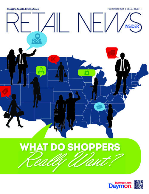 November 2016 Retail News Insider