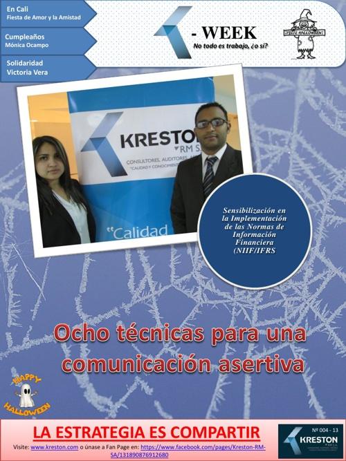 Boletín Social K- Week Octubre