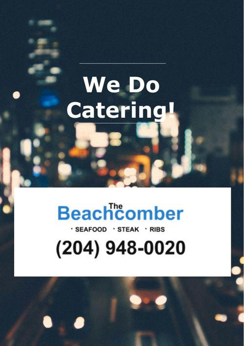 Winnipeg Catering Company - The Beachcomber Restaurant