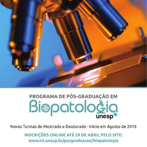UNESP - Pos-Graduação em Biopatologia