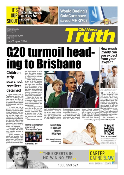 QLD News - The Truth (July-August 2014)