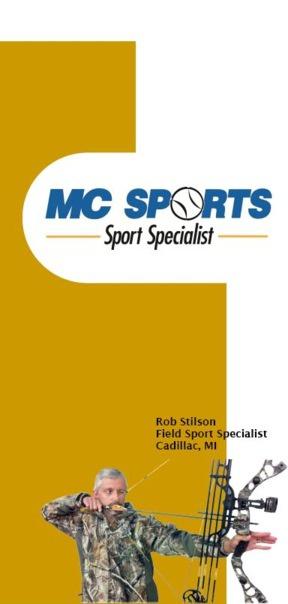 Sport Specialist brochure