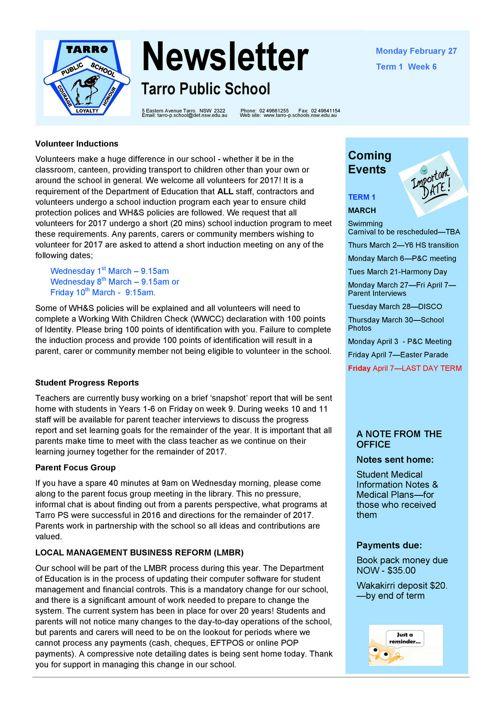 Newsletter Feb 27 2017 PDF
