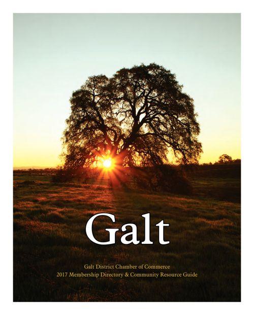 2017 Galt Chamber Directory