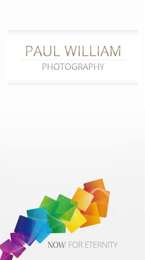 Paul William Photography Brochure