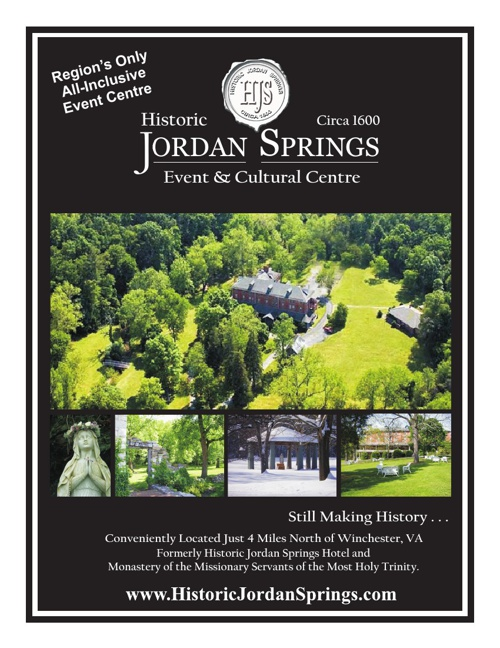 Historic Jordan Springs History and Overview