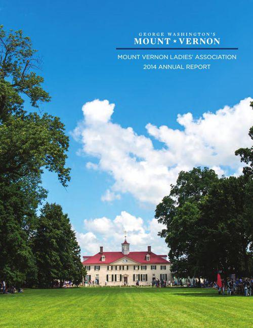 2015 Mount Vernon Annual Report
