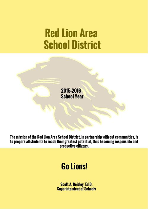 Red Lion Area School District Brochure