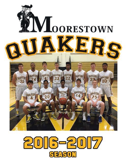 2016-2017 Moorestown Program
