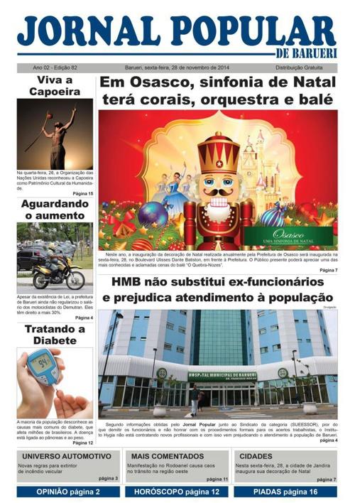 82ª edição do Jornal Popular de Barueri